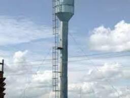 Водонапорные стальные башни Рожновского