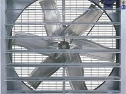 Вытяжной вентилятор для птицефабрик и теплиц