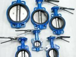 Затворы дисковые поворотные всех диаметров