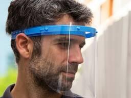 Защитный экран/щит для лица. Защитная маска. Himoya Niqob