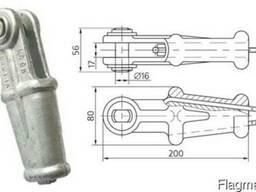 Зажим натяжной клиновой НКК-1-1Б